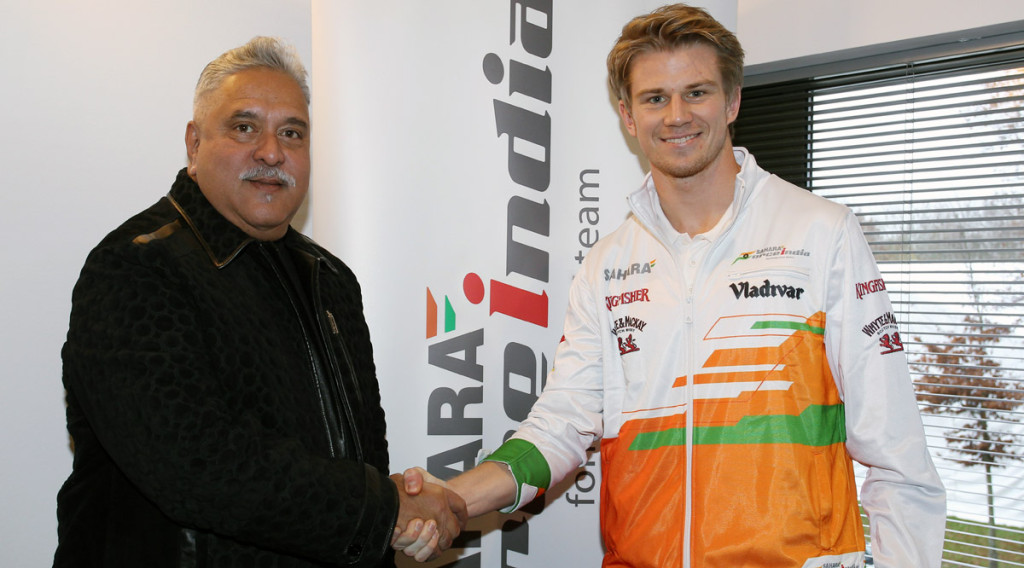 Nico Hülkenberg klar för Force India