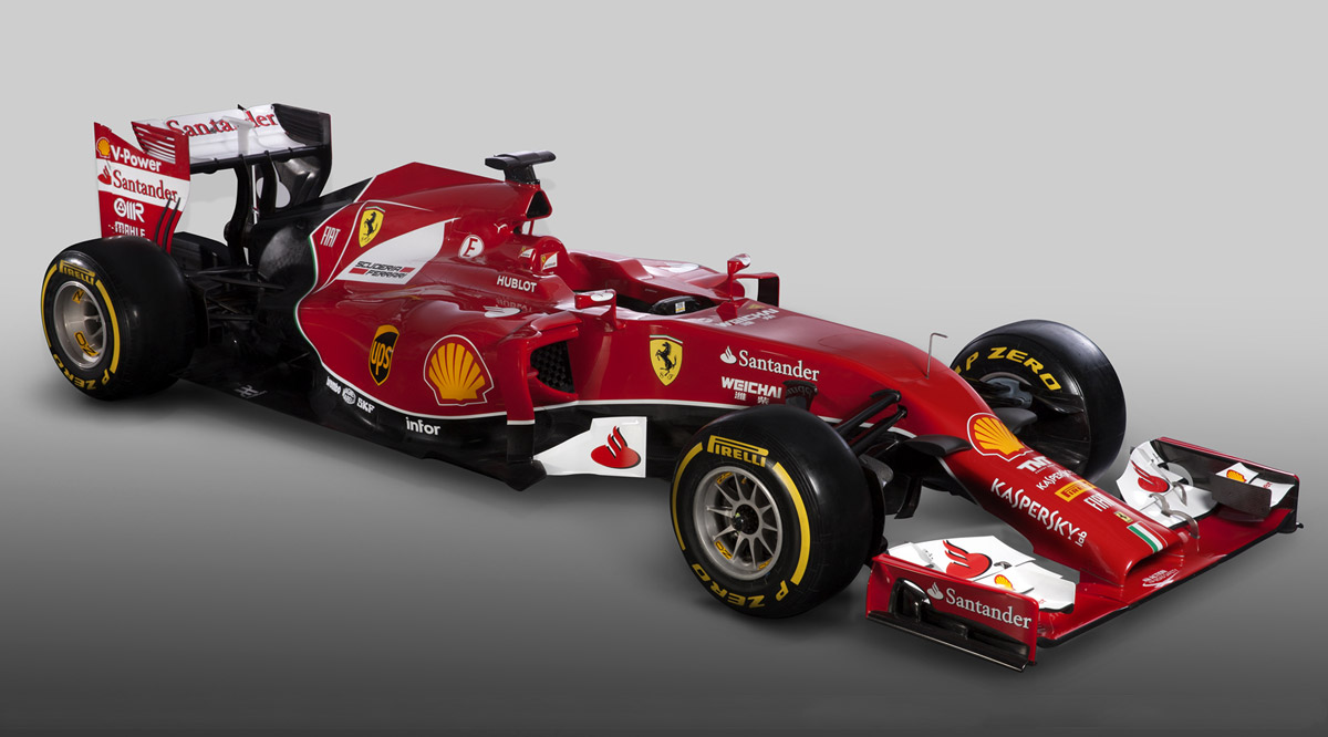 ferrari visar f14 t kimis och alonsos nya bil. Black Bedroom Furniture Sets. Home Design Ideas