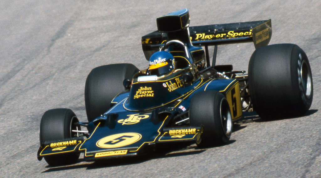 Ronnie Peterson Formel 1 Anderstorp 1975 Lotus 72E