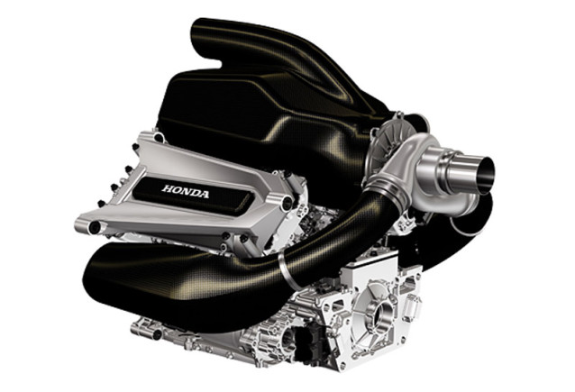 Hondas power unit inför 2015