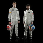 Jenson Button och Fernando Alonso