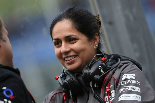 Sauber teamchef Monisha Kaltenborn har lite att se glad ut över efter domen i The Supreme court of Victoria