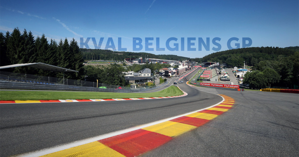 Circuit de Spa-Francorchamps kval 2015