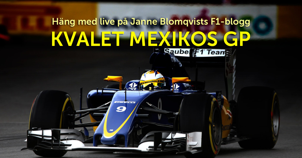 Livediskussion Mexikos Grand Prix kval