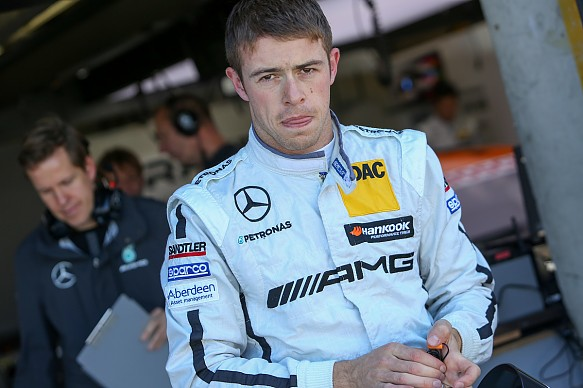 Paul Di Resta blir reservförare hos Williams under 2016
