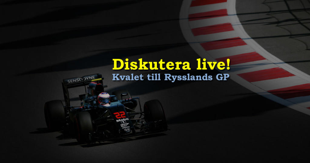 Live F1 Rysslands Grand Prix 2016 kval