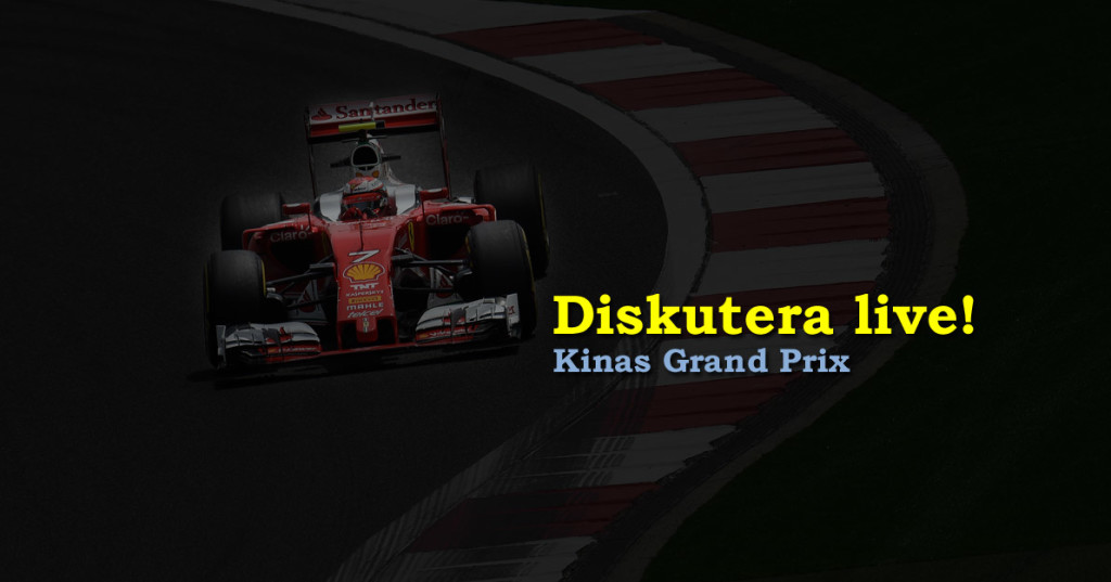 Live Kinas GP 2016 race
