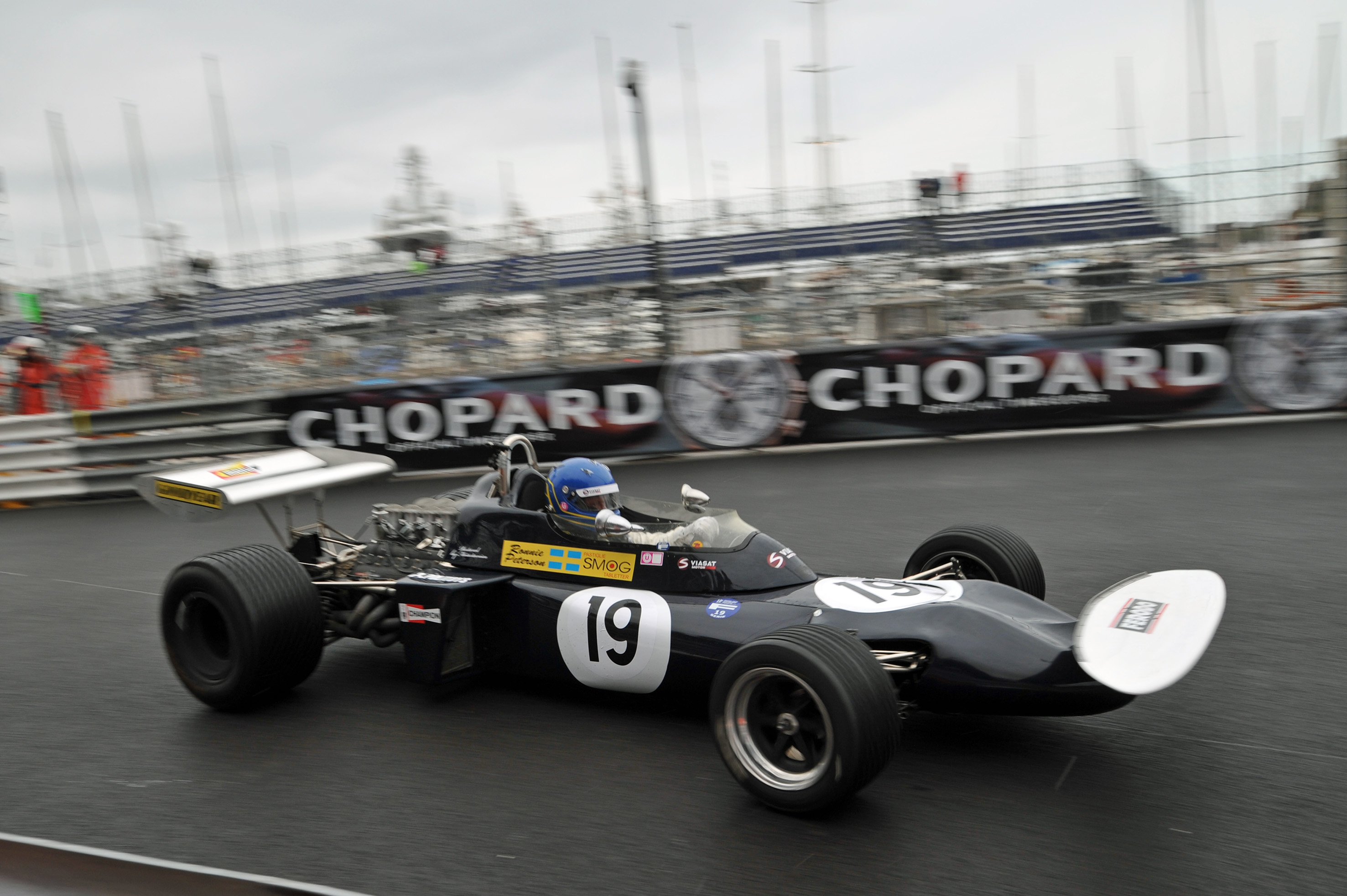 Eje Elgh Monaco Historic GP photo: Simon Arron