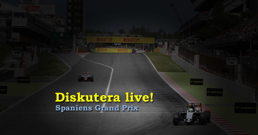 Livediskussion Spaniens GP 2016 race