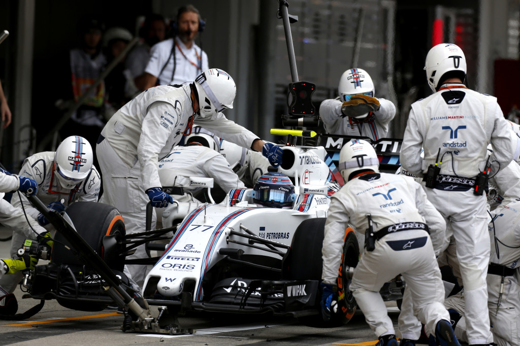Williams har F1-depåns snabbaste mekaniker