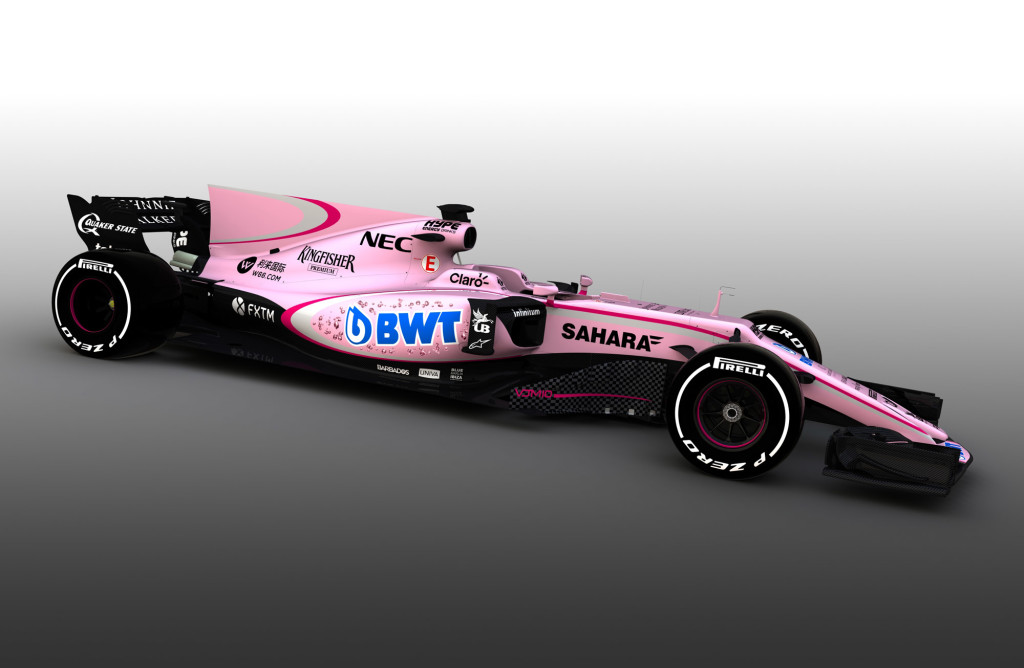 Force India 2017