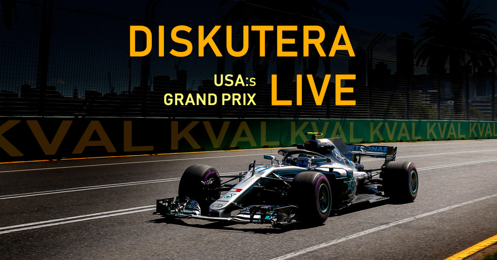 F1-bloggen livediskussion USA.2018 kval