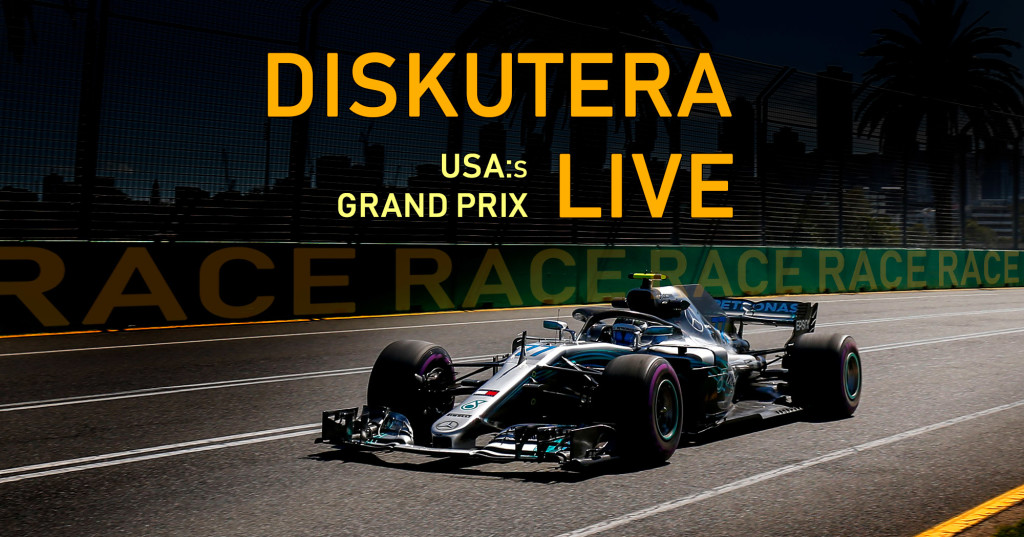 F1-bloggen livediskussion USA.2018 race