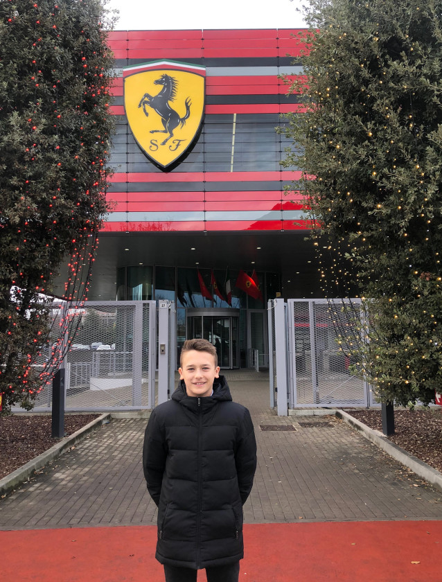 Dino Beganovic is from 2020 part of Ferrari Driver Academy