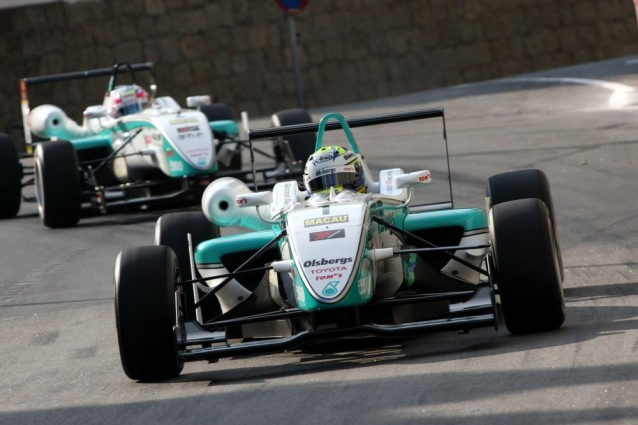 Marcus Ericsson had the record for fastest lap in Macau for a long time