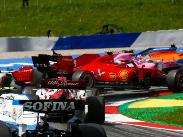 everything went from bad to worse for Ferrari during the Styrian GP at Red Bull Ring