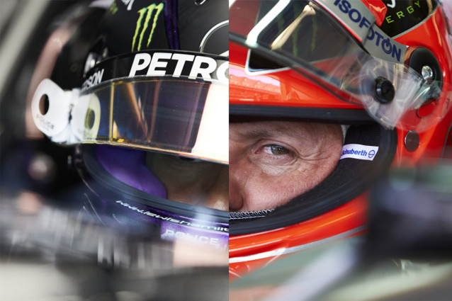 Two of greatest drivers in the history of Formula one