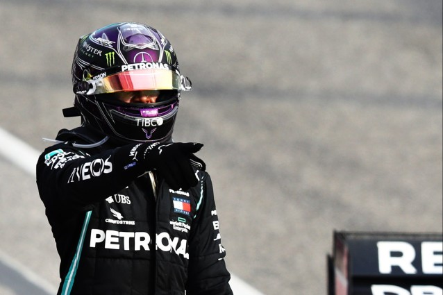 Lewis Hamiltom made sure, toghether with Valtteri Bottas, that Mercedes could secure their seventh consecutive Constructurs Championship title