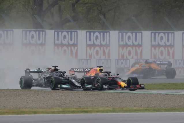Lewis Hamilton and Max Verstappen continue to give us some spectacular racing
