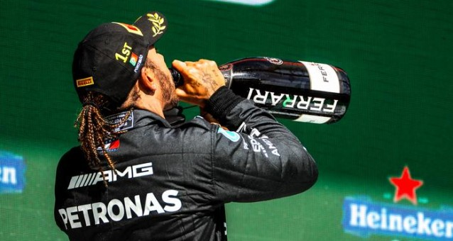 Lewis Hamilton took the win in Porugal and leads the championship by 8 points