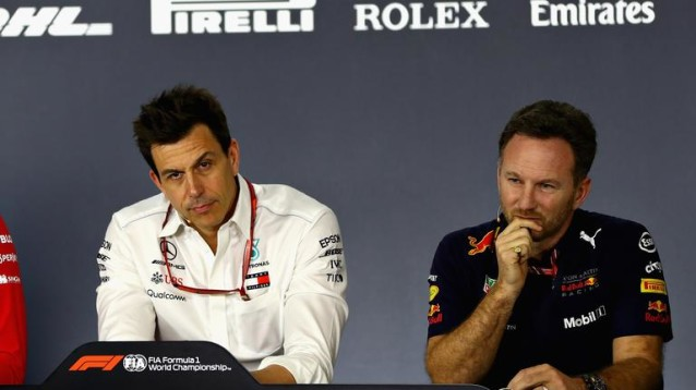 The war of words have continued between Mercedes and Red Bull