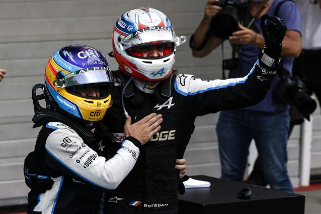 Esteban Ocon taking his first win was one of the favorite things from Hungary